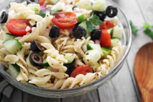 Easy Vegan Summer Pasta Salad