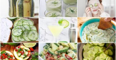 What to do with cucumbers