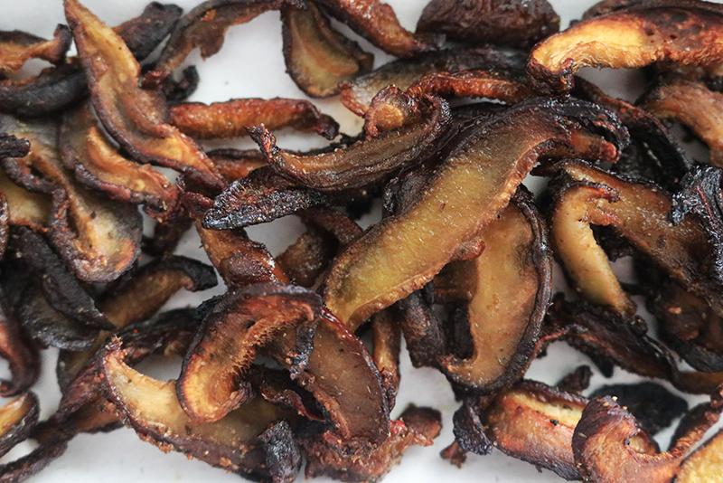 shiitake mushroom bacon