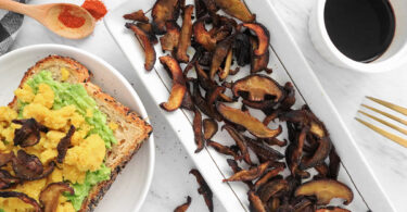 Shiitake Mushroom Bacon recipe