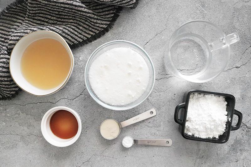 vegan marshmallow recipe ingredients
