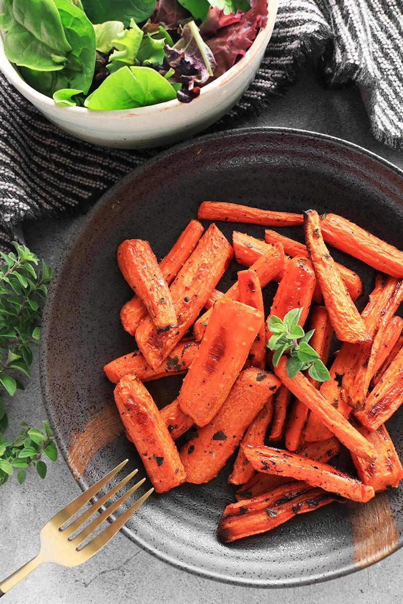 Finished Maple Glazed Carrots