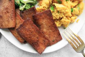 Easy Tofu Bacon