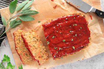 Vegan Chickpea Meatloaf