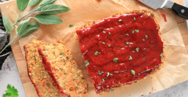 Vegan Chickpea Meatloaf