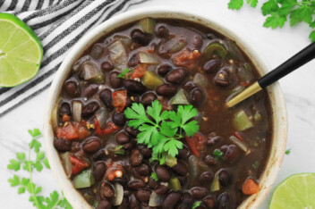 How to Cook Canned Black Beans