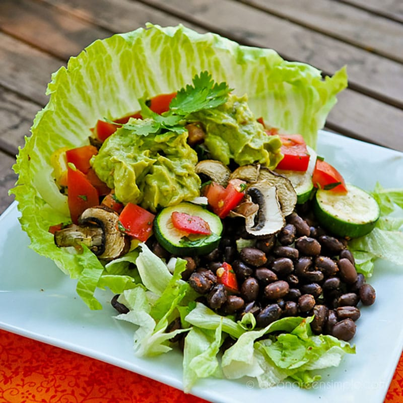 Simple Vegan Taco Salad