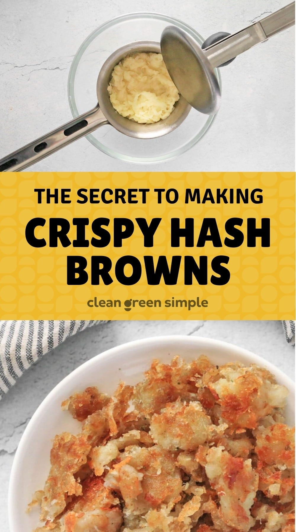 The Secret to Crispy Hash Browns Pin