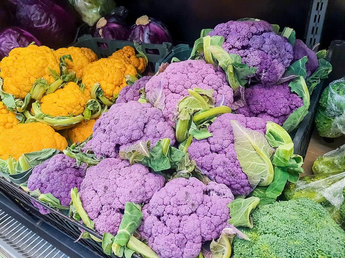 Unique Orange Cheddar Cauliflower 15 Seeds Veggie