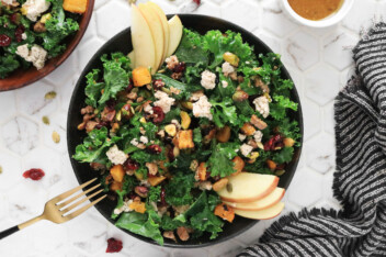 Fall Harvest Salad with Maple Vinaigrette