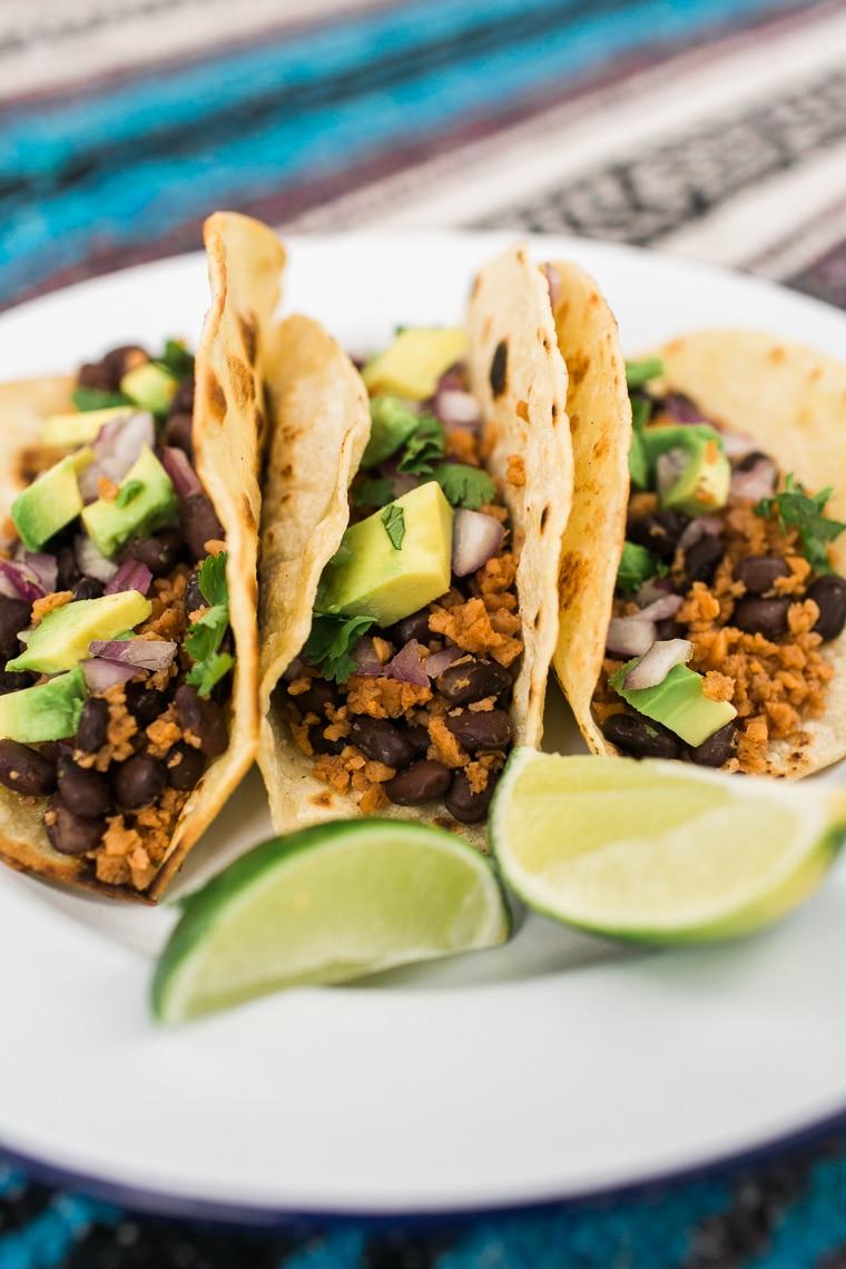 5 Ingredient Vegan Tacos