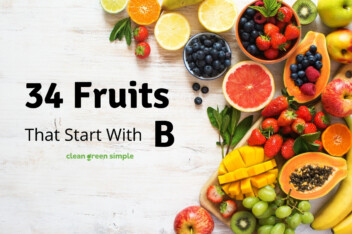 34 Fruits That Start With B
