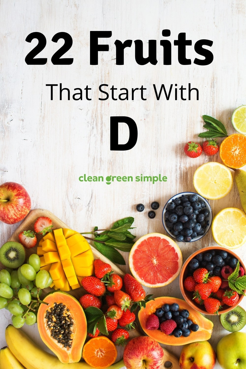 Fruits that start with D