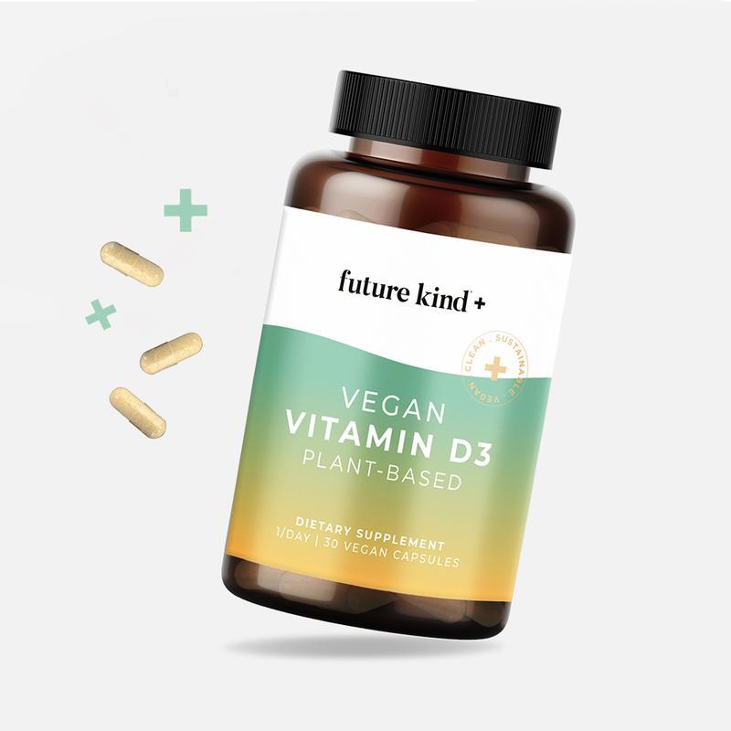 Future Kind Vegan Vitamin D3 bottle