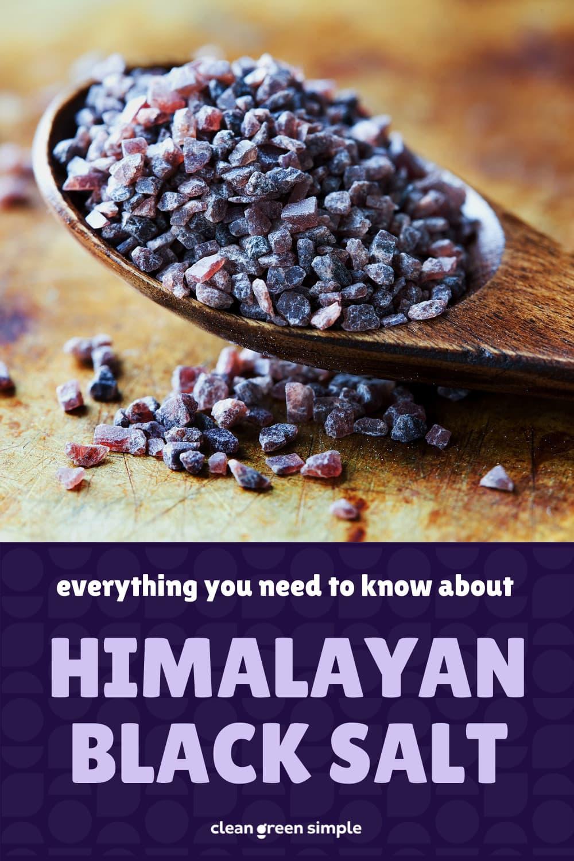 Himalayan Black Salt Pin