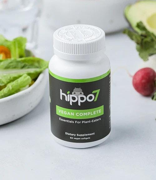 Hippo7 Vegan Complete Multivitamin