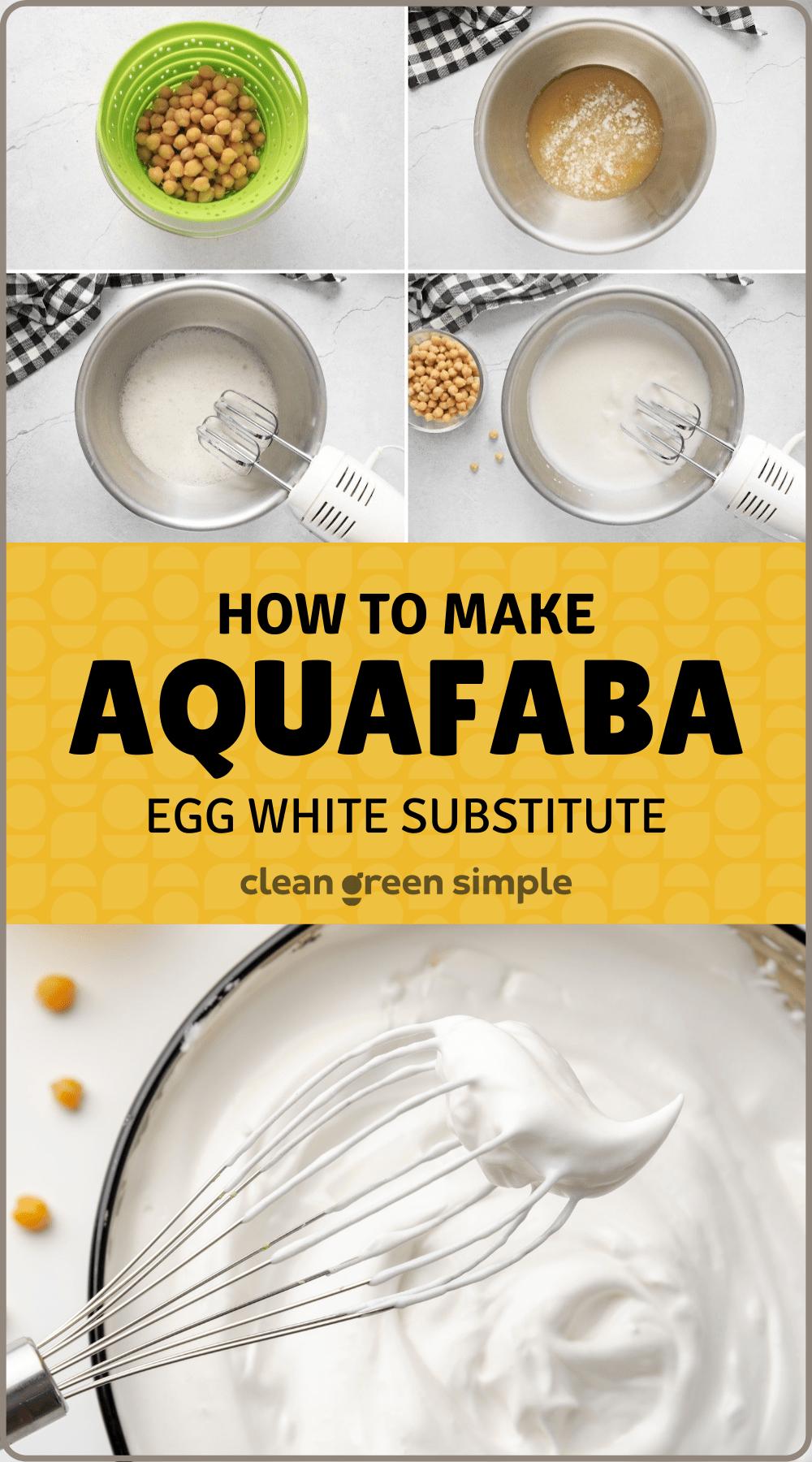 How to make aquafaba