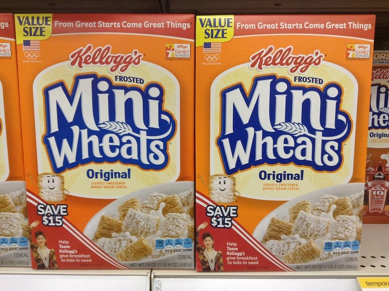 Kellogg's Frosted Mini Wheats