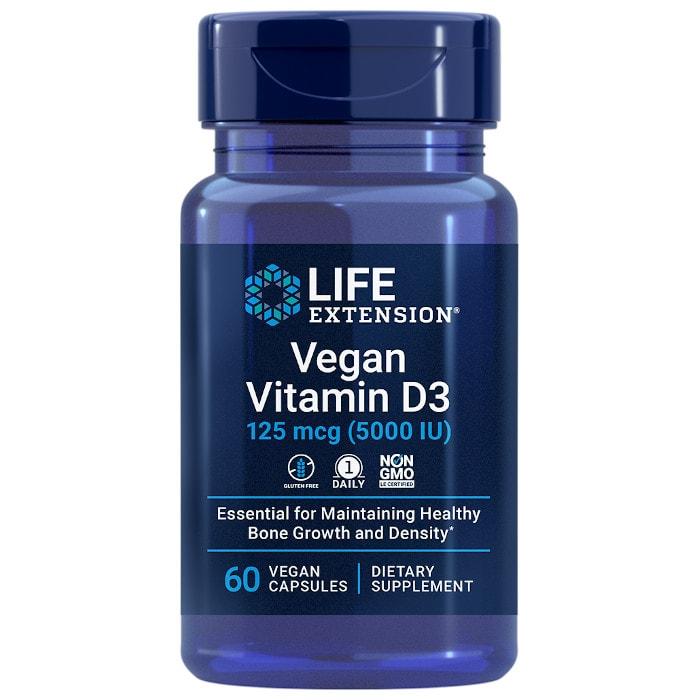 Life Extension Vegan Vitamin D3