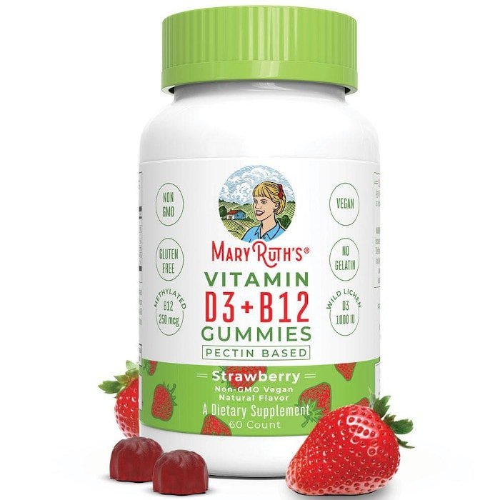 MaryRuth's Vegan Vitamin D3+B12