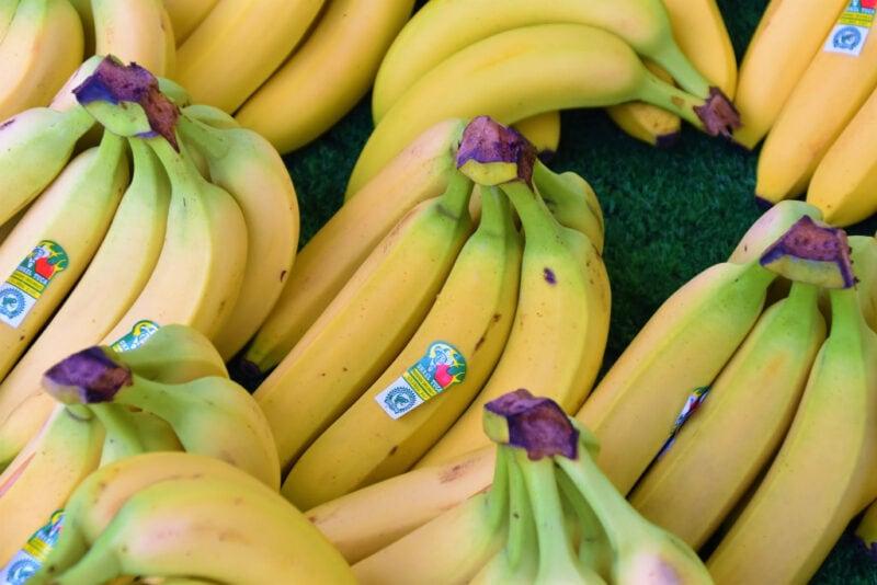 commercial non-organic bananas