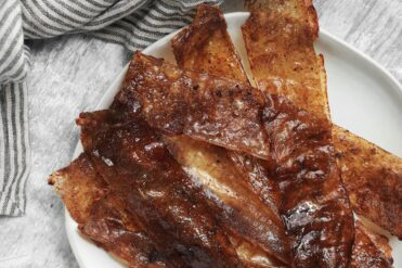 How to Make Vegan Rice Paper Bacon