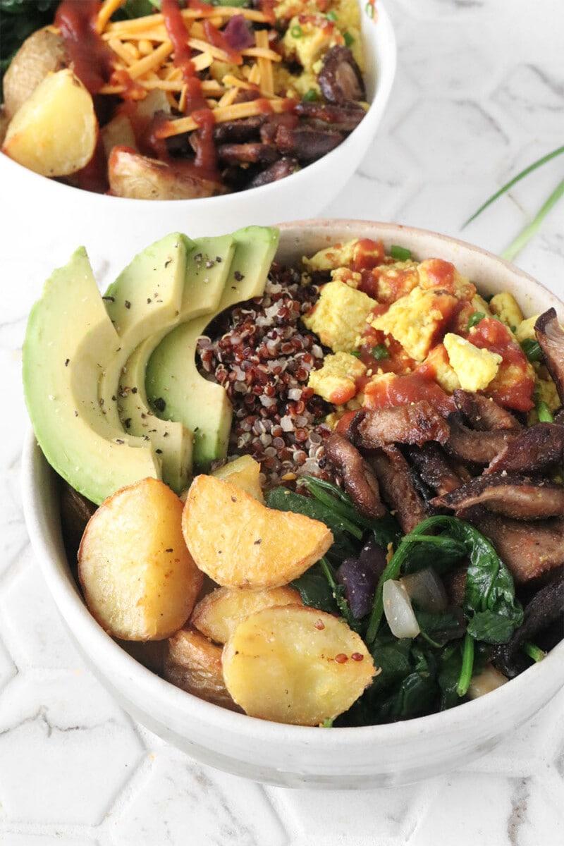 Savory Vegan Breakfast Bowl