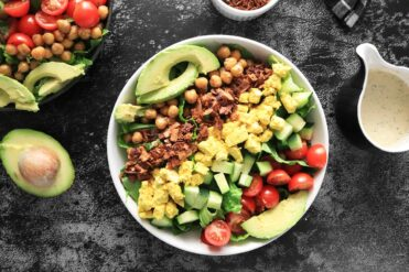 Vegan Cobb Salad with Coconut Bacon Bits